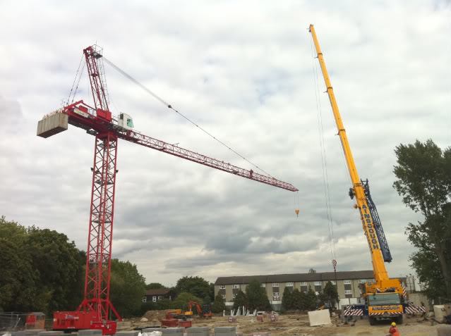Tower Crane Guide : Quick guide to tower crane assembly the classic