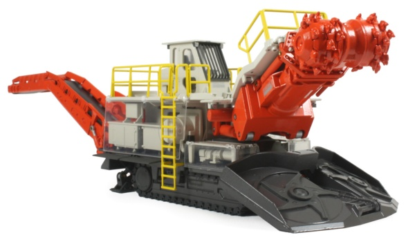 Sandvik MT720 Tunneling Roadheader - The Classic Machinery Network