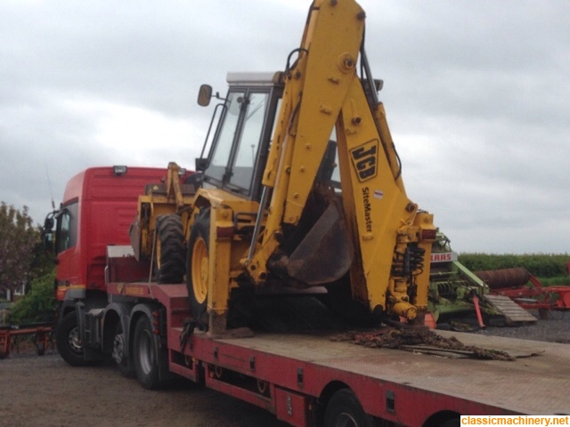 JCB 3cx grey cab low power / No brakes!! - The Classic
