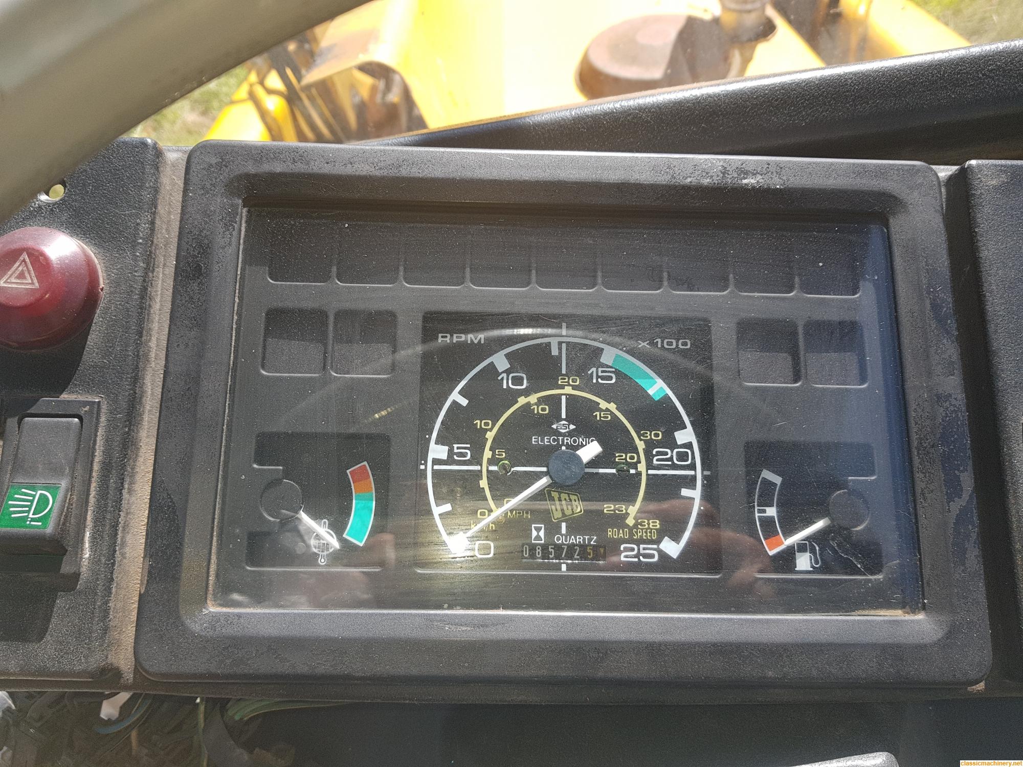 1990 JCB 3CX Tachometer  - The Classic Machinery Network